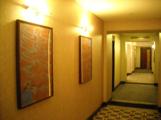 Sofitel Philadelphia Hotel: Corridor outside of our room