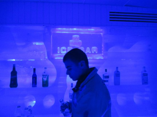 Luna Sharm Hotel: Ice Bar