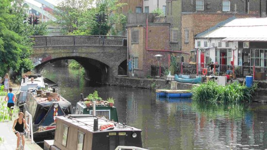 Cycle Tours of London: Canals of London