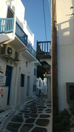 Hotel Carbonaki: Exterior View of Balconies