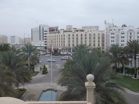 Radisson Blu Hotel, Muscat : view from my room