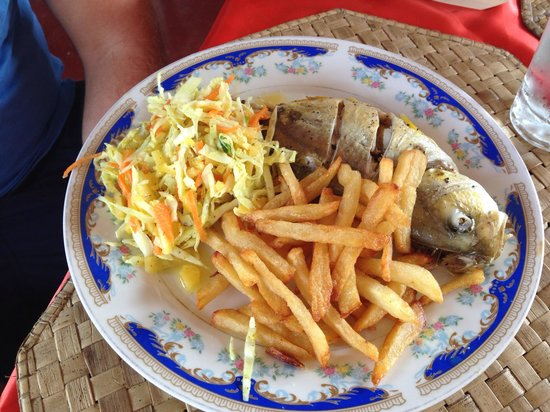 Lucullus Garden Restaurant: Freshly caught fish deliciously cooked