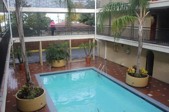 Super 8 New Orleans : Piscine de l'hôtel