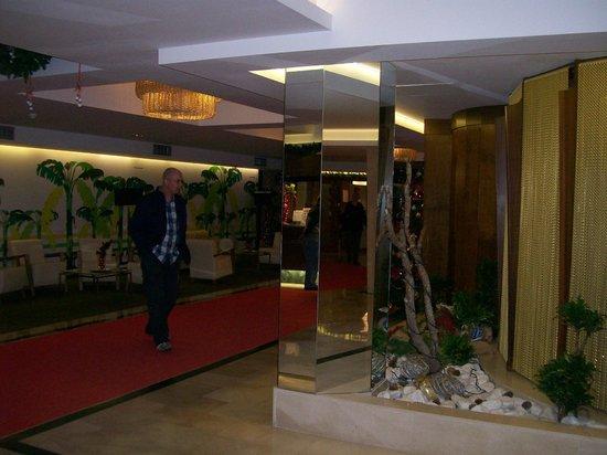 HOTEL BENILUX PARK: Reception area.