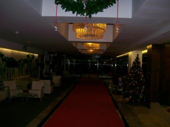 HOTEL BENILUX PARK: Entrance Hall.