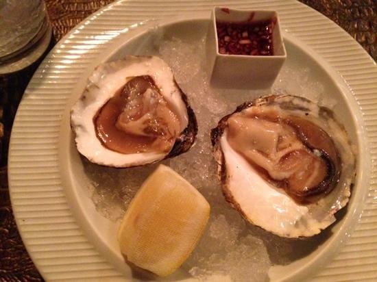 Hotel Urban: et les huîtres