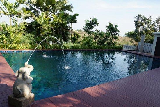Uthai River Lake Resort : la piscine