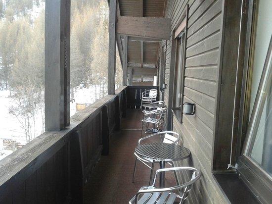 Pension Neururer: Balkon