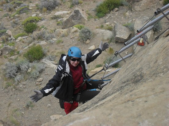 Enjoy!: rapel no Cerro Calafate
