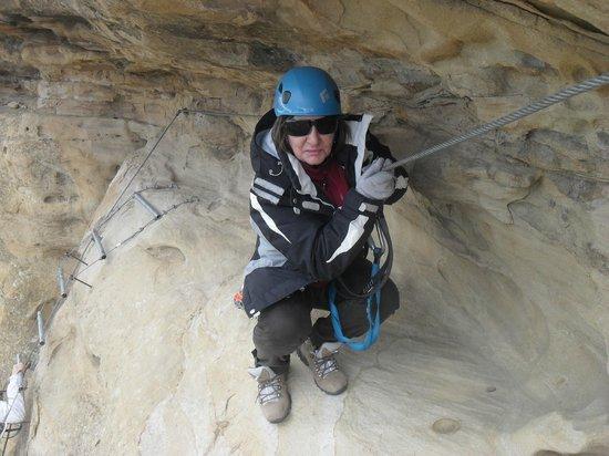 Enjoy!: refúgio da via ferrata no Cerro Calafate
