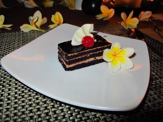 Jamahal Private Resort & SPA : Schokokuchen