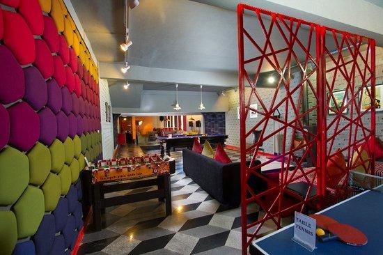 Honeymoon Inn Manali : sports lounge our latest addition