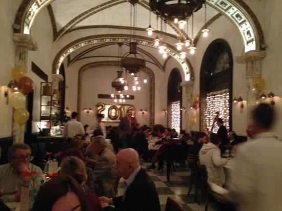 Callas Café & Restaurant : Vista parcial restaurante Callas 1-1-2014
