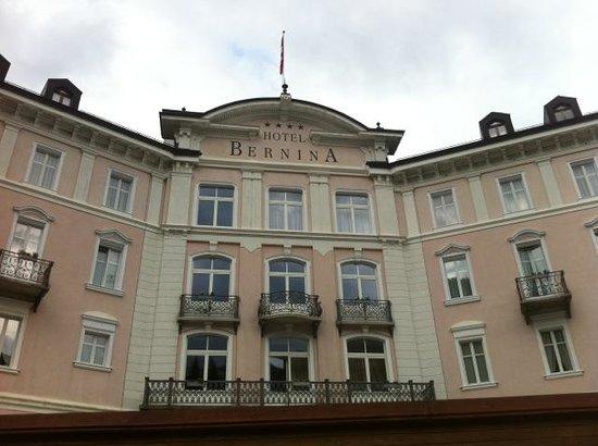 Hotel Bernina 1865: facciata hotel