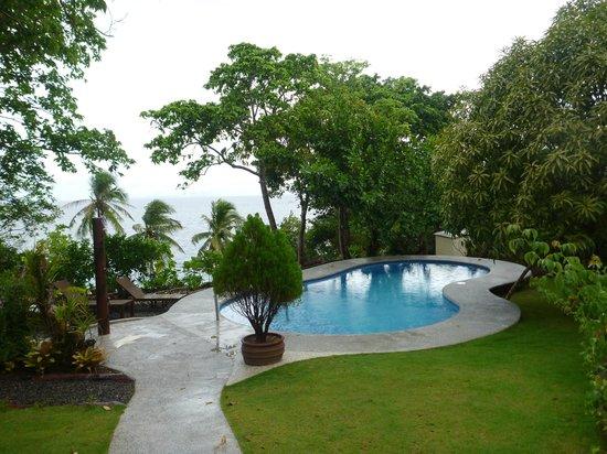 Padre Burgos Castle Resort: Pool area