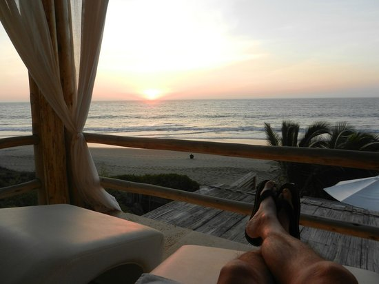 DCO Suites, Lounge & Spa: Sonnenuntergang