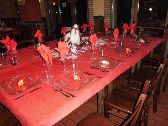 La Cantinaccia : Tavolo Pupazzi di neve