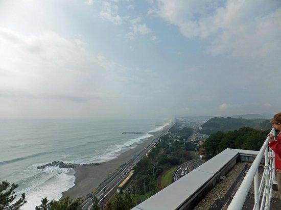 The Sakamoto Ryoma Memorial Museum: 屋上からの太平洋