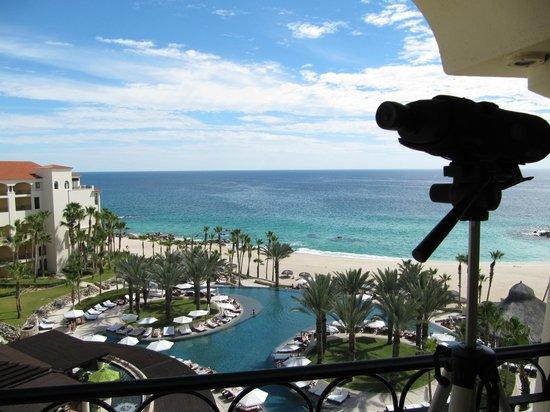 Hilton Los Cabos Beach & Golf Resort : poolarea from room