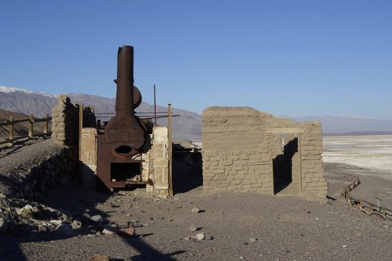 Harmony Borax Works Death Valley California Picture Of