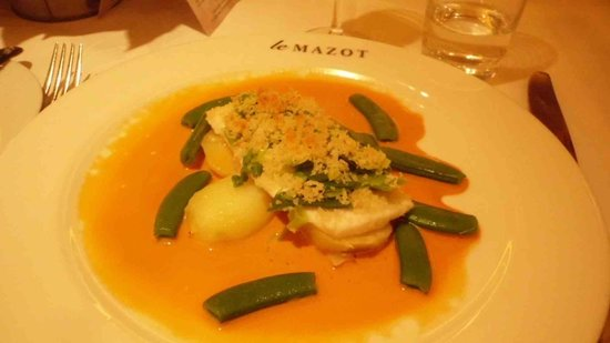 Le Mazot: Plaice main course