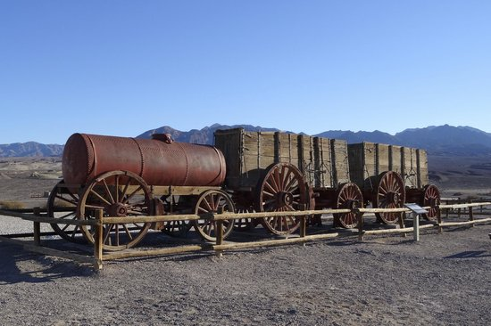 Harmony Borax Works, Death Valley, California