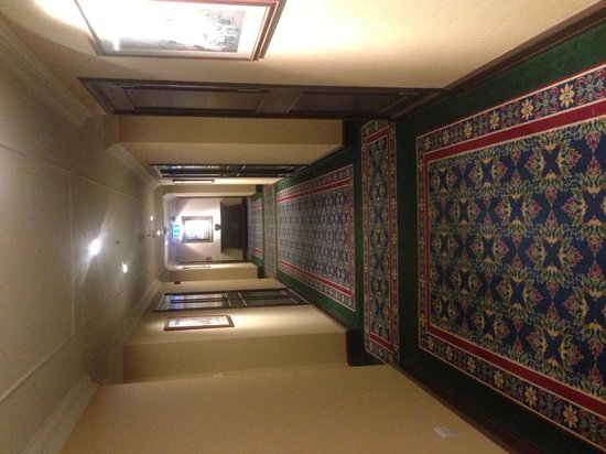 The Sukosol: Corridor to our room. Elegant.