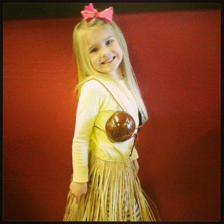 Zoë Grace loves the Tiki Hut Oasis!