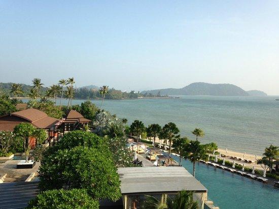 Pullman Phuket Panwa Beach Resort : Vue depuis la chambre (bâtiment 4, 4e étage)