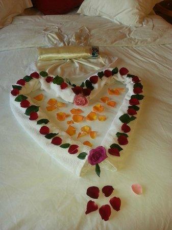 Riad Chbanate : Bedroom greeting