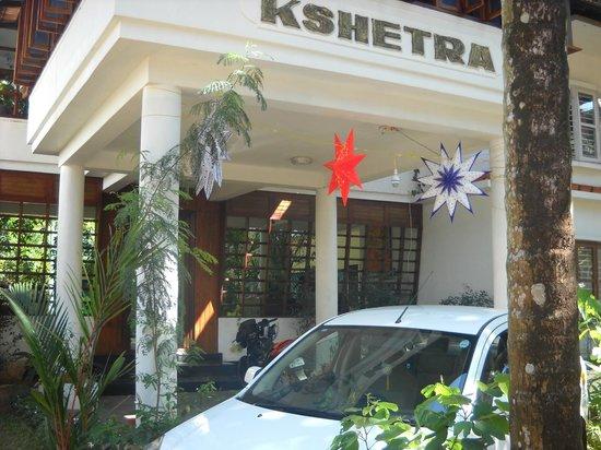 Kshetra Beach Resorts: Front view of hotel
