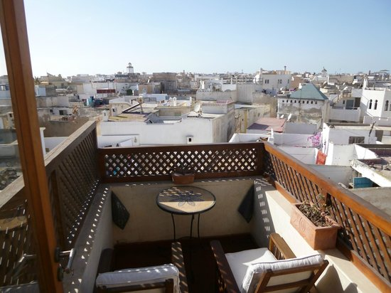 Riad Chbanate : View from terrace