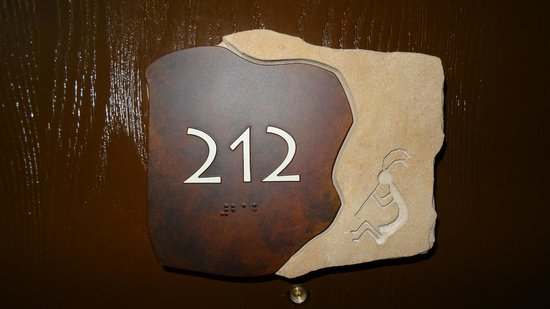 Holiday Inn Express Mesa Verde-Cortez: nice room number signs