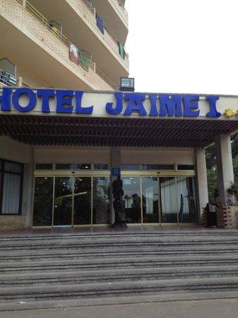 Jaime I Hotel : entrance