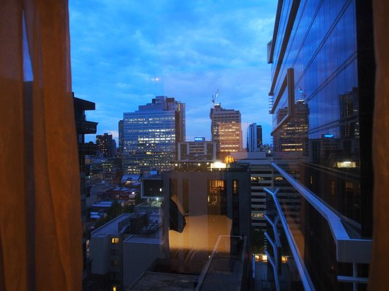 Stamford Plaza Melbourne : View rom our bedrrom
