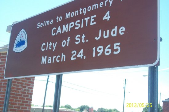 Selma to Montgomery: Campsite 4 march to  Montgomery