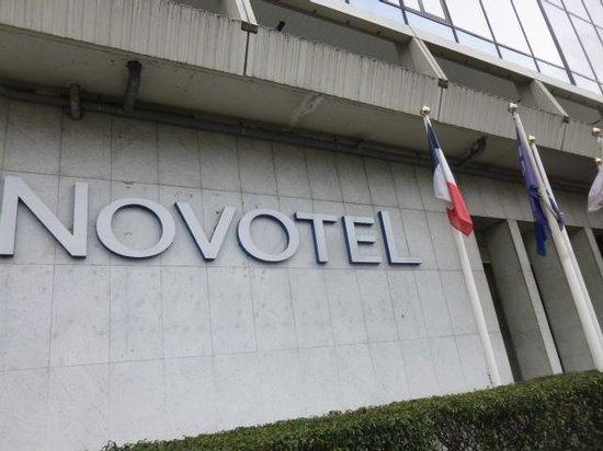 Novotel Paris Centre Tour Eiffel: ホテル正面