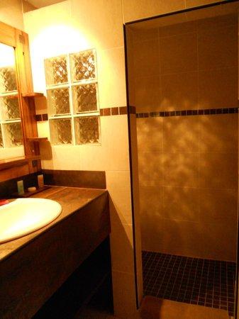 Royam Hotel: Sdb chambre intermediaire