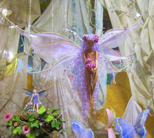 Swellendam fairy sanctuary: A beautiful hand created faerie sylph
