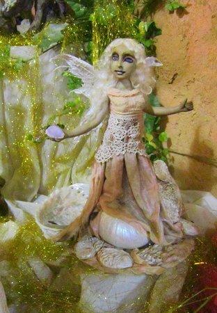 Swellendam fairy sanctuary: An amazing hand sculpted sea faerie