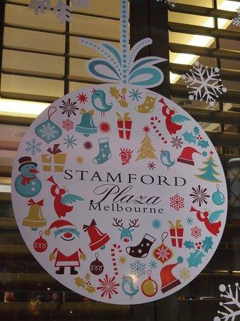 Stamford Plaza Melbourne: Christmas Decorations