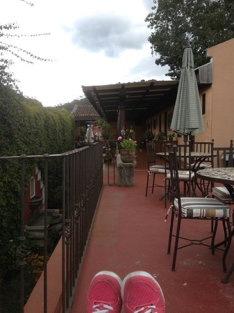 Hotel Meson del Valle : Lovely roof terrace