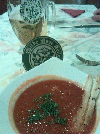 Wilde Rose Keller: Bloody Mary soup