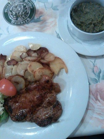 Wilde Rose Keller: Pork Steak Dinner