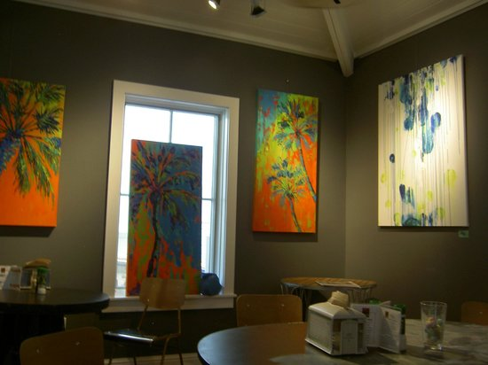 Relish Cafe & Market Place: Artwork in the Cafe