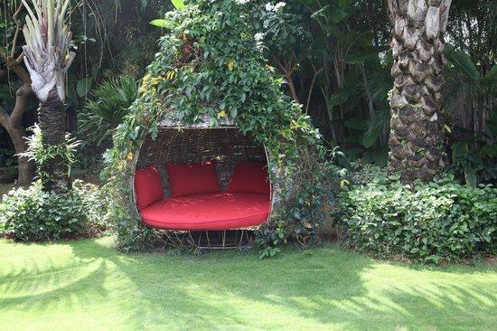 Bali Ethnic Villas: Garten