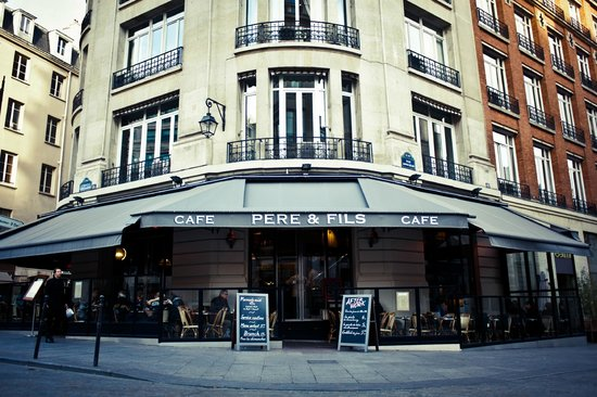 Photo of French Restaurant Cafe Pere & Fils at 86 Rue Montmartre, Paris 75002, France