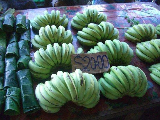 Honiara Central Market: バナナ