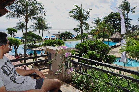 Grand Aston Bali Beach Resort: Poolview Deluxe Room