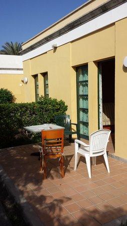 El Cardonal Apartments: Our Terrace Nov 2013